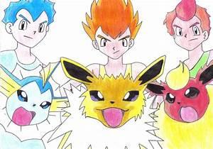 pokemon eevee brothers images