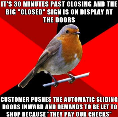 Retail Memes - retail robin meme