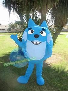 Free Shipping Yo Gabba Gabba Toodee Mascot Costume for ...