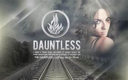 Divergent Dauntless Wallpapers Quotes Customization Faction Deviantart