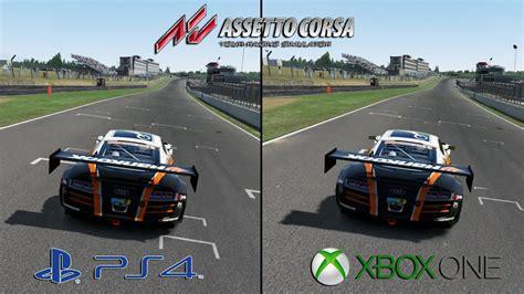 Assetto Corsa Ps4 Vs Xbox One Audi R8 Brands Hatch