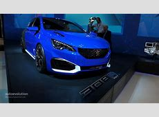 Peugeot 308 R HYbrid is a Rare Mix Between Supercar and