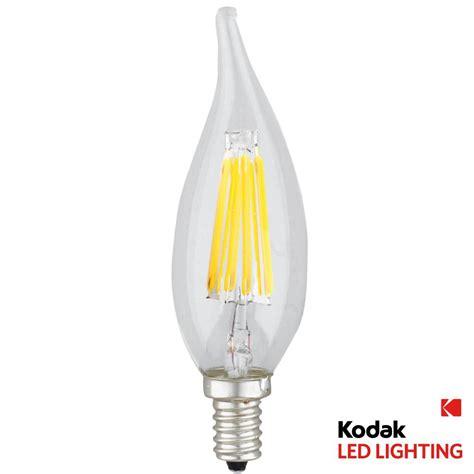 kodak 55w equivalent warm white e12 candle dimmable