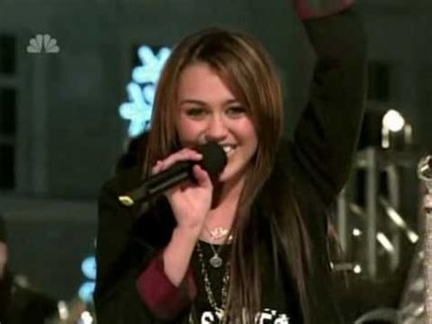 miley cyrus quot rockin around the christmas tree quot high