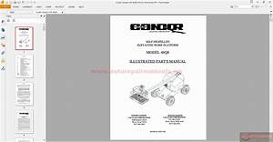 Condor Scissors Lift 46q8  92221 Parts Book