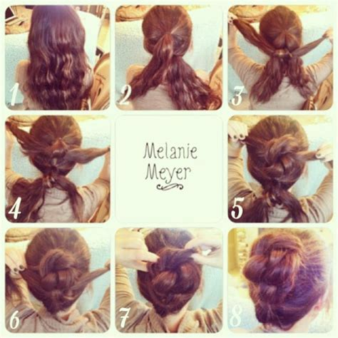 Easy quick updos for long hair   ideas 2016   Ombre Hair.INFO