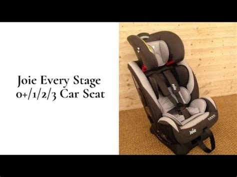joie  stage  car seat review buggypramreviews