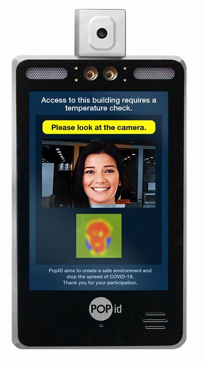 Covid Temperature Check Recognition Devices Kiosks Screening