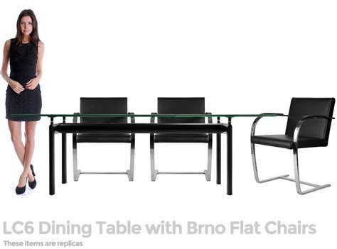 mies brno style canti chair flat arm home  office