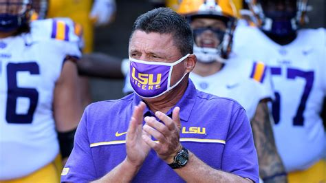 LSU coach Ed Orgeron blames Tigers' defense for loss to ...