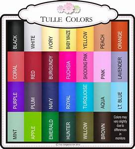 Tutu Gorgeous Girl  Tulle Colors