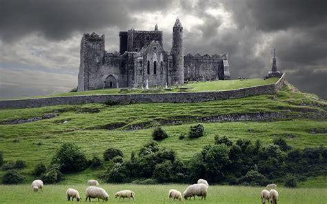 landscape castle castle church ruins wallpapers hd