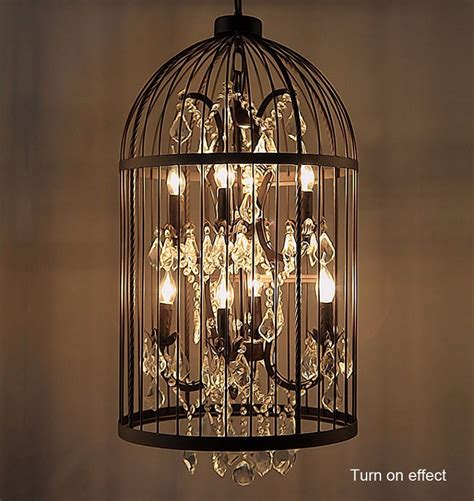 Birdcage Chandelier by Popular Country Vintage Birdcage Chandelier Bird Cage