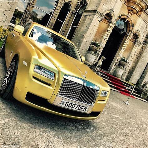 Best Images Of Golden Rolls Royce.
