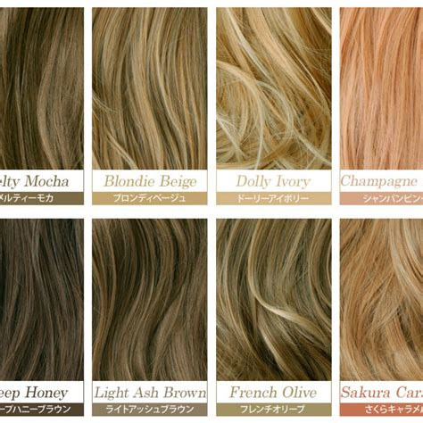 Hair Color Shades Of Chart by Shades Of Brown Hair