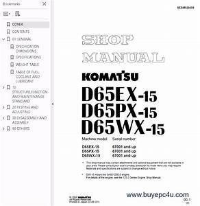 Komatsu Bulldozer D65ex  D65px  D65wx