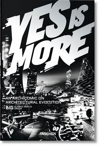 Yes Taschen Architecture Bjarke Less Books Comic