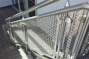 PNC Bank - Stainless Steel Woven Wire Mesh Interior