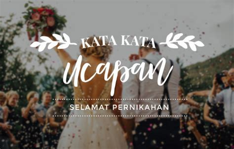 ucapan selamat menikah lucu  bahasa indonesia