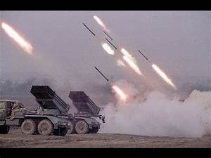 Warplanes and Helicopters Support Multiple Launch Rocket ...