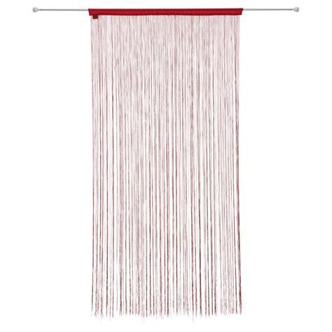 rideau fil xcm rouge