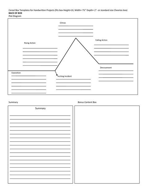 cereal box book report images  pinterest book