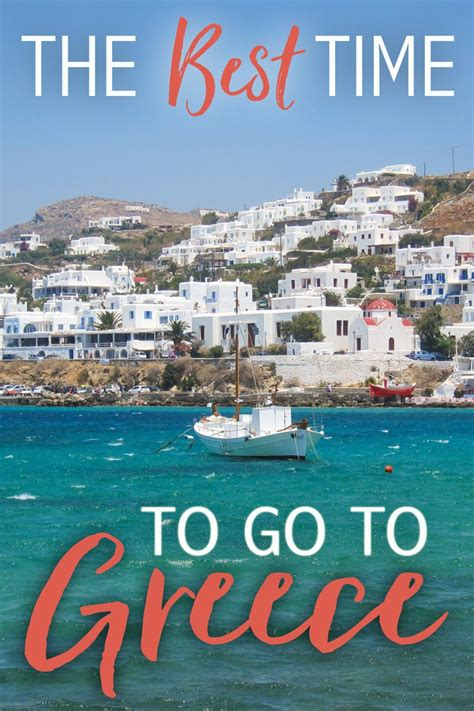 Best Time Travel by The Best Time To Go To Greece The Abroad