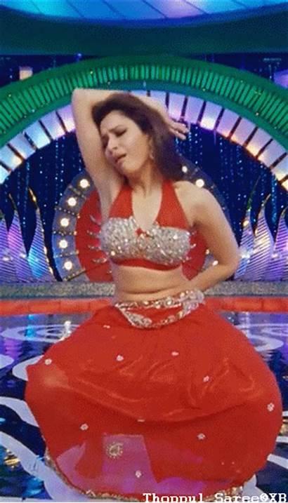 Tamanna Dance Belly Spicy Actress Indian Bikini