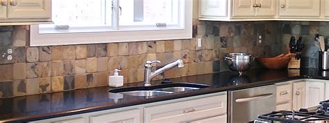 slate tile kitchen backsplash slate backsplash tile design backsplash 5323