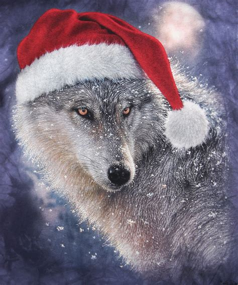 holiday wolf t shirt