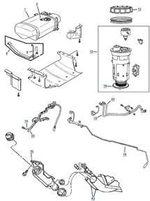 1988 jeep wrangler laredo zj grand fuel parts 4 wheel parts