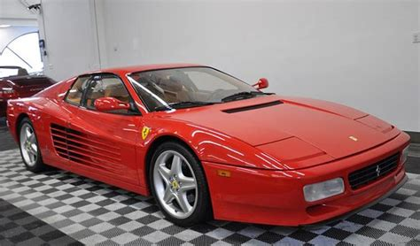 Low Mileage, Rosso Corsa 1991 Ferrari Testarossa For Sale