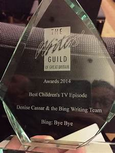 Writers' Guild Great Britain Award Bing for Best Writing ...