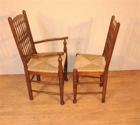 oak kitchen diner chair set refectory table