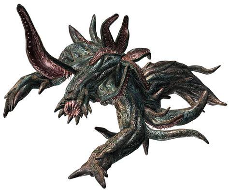 queen leech final form characters art resident evil
