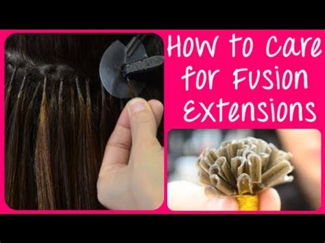 How To Care For Keratin Hot Fusion Hair Extensions