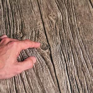 Planche De Bois Flotté : papier peint planches de bois flott trompe l 39 oeil open en ville lepeu pinterest ~ Melissatoandfro.com Idées de Décoration