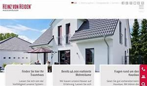 Heinz Von Heiden Gmbh Massivhäuser : vielfalt ist planbar heinz von heiden gmbh massivh user pressemitteilung ~ Markanthonyermac.com Haus und Dekorationen