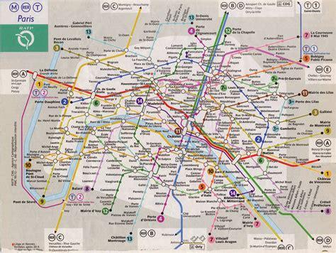Carte Rer Parisien by Rail Maps