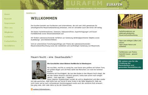 Europaeischer Arbeitskreis Fuer Mauerwerkssanierung wta bauwerkserhaltung und denkmalpflege mauerwerk