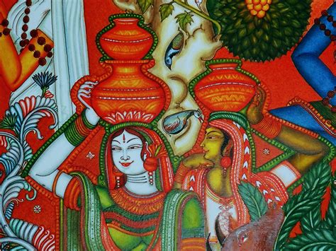 mural artists portfolio kerala mural paintings