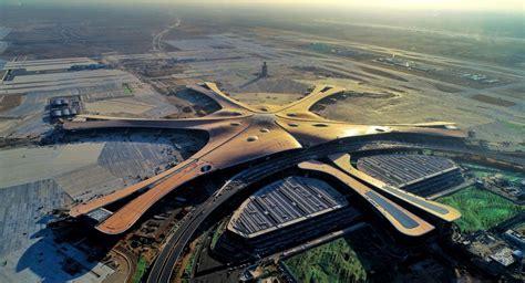 Pekinā uzbūvēta pasaulē lielākā lidosta