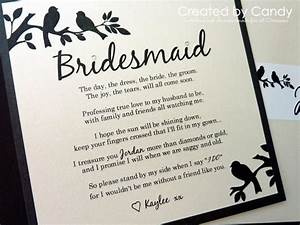 best 25 bridesmaid letter ideas on pinterest letter to With asking maid of honor letter