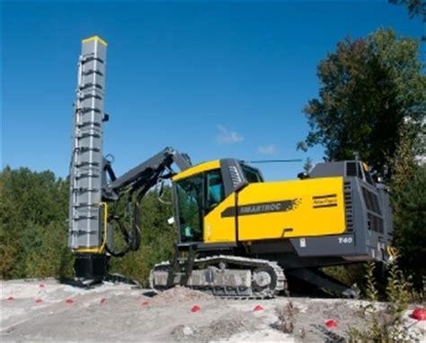 atlas copco reduces drill rig noise