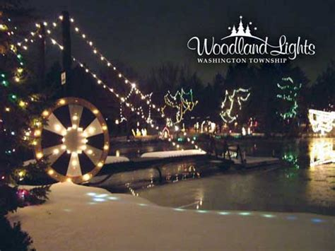 woodland lights walk the path to holiday fun dayton