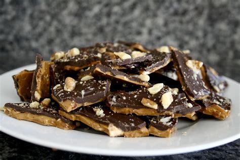 toffee recipe chocolate kix toffee bark recipe dishmaps