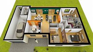 Maison Americaine Interieur : plan de maison calliste personnalisable ~ Zukunftsfamilie.com Idées de Décoration