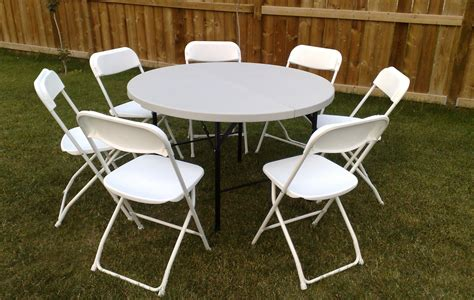 round tables and chairs for rent calgary party rental price list