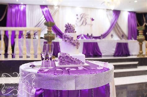 83 Silver And Purple Wedding Cakes Viswed