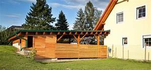 Carport Holz Modern : carports pichler holzbau pichler holzbau ~ Markanthonyermac.com Haus und Dekorationen